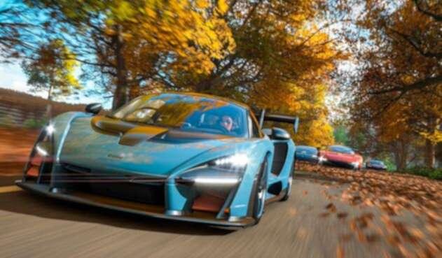 El Forza Horizon 4 de Microsoft