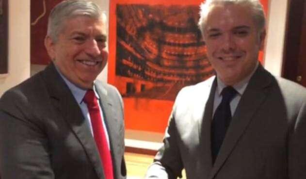 Iván Duque y César Gaviria se reunieron el pasado 22 de junio, luego de la elección presidencial