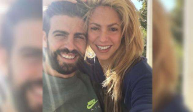 Gerard Piqué y Shakira