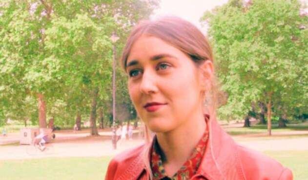 Gina Martin, la joven que hizo público su caso y motivó la discusión en el Parlamento británico