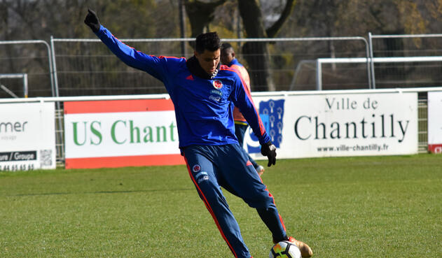 Giovanni Moreno, volante excluido de la Selección Colombia para Rusia 2018 pero está en el álbum de Panini