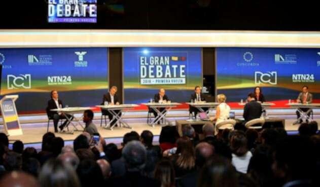 Gran debate de RCN