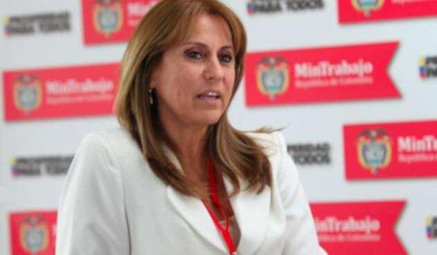 Ministra de Trabajo - Griselda Restrepo