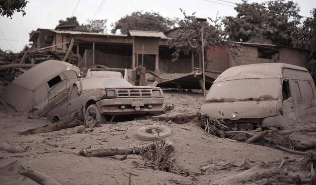 Guatemala, luego de la erupción del volcán