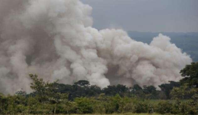Volcán de Fuego en Guatemala / AFP