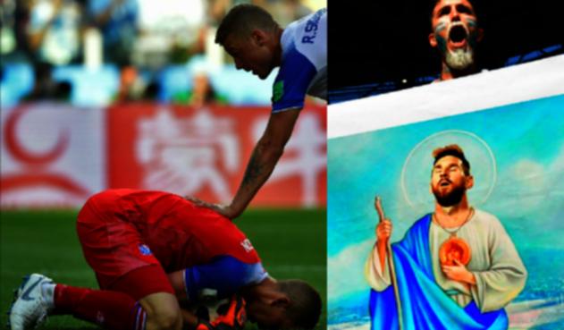 Hannes Halldórsson vs Lionel Messi