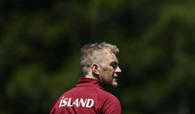 El seleccionador de Islandia, Heimir Hallgrimsson