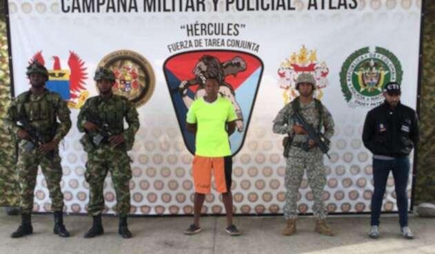 Juan Gabriel Arizala Vernaza, hermano del jefe de las disidentes de las Farc, Walter Patricio Arizala Vernaza, alias Guacho