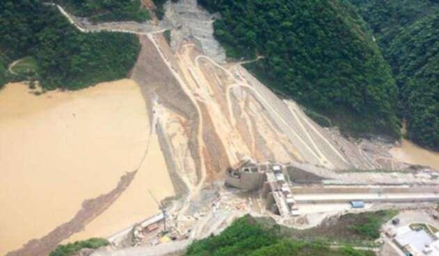 La hidroeléctrica de Ituango, Hidroituango, ubicada en Antioquia