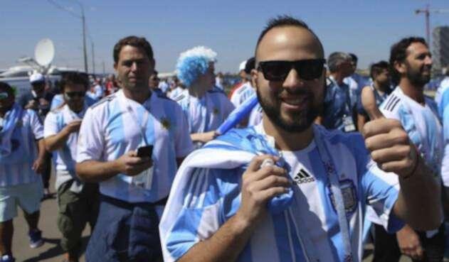 Hinchas argentinos en el Mundial Rusia 2018