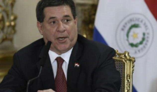 Horacio Cartes, presidente de Paraguay, desistió de su renuncia