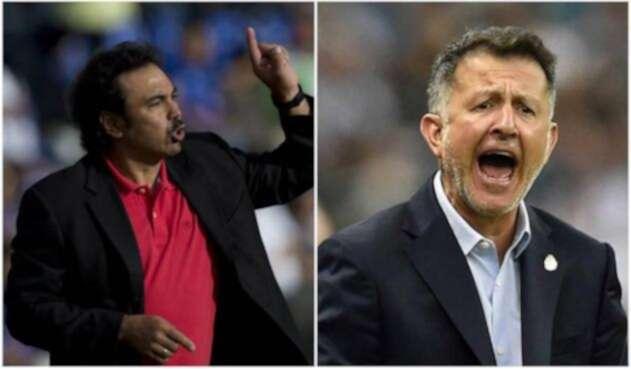Hugo Sánchez y Juan Carlos Osorio - México