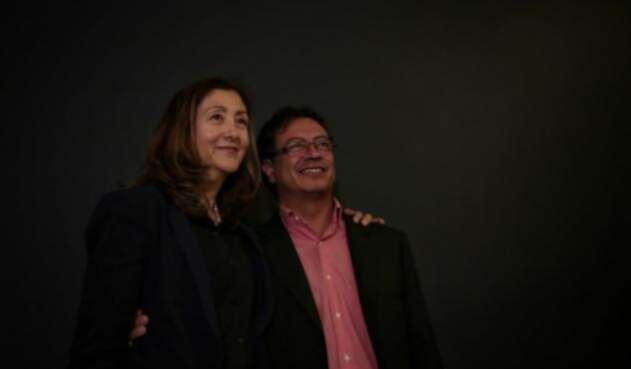 Íngrid Betancourt y Gustavo Petro / Colprensa