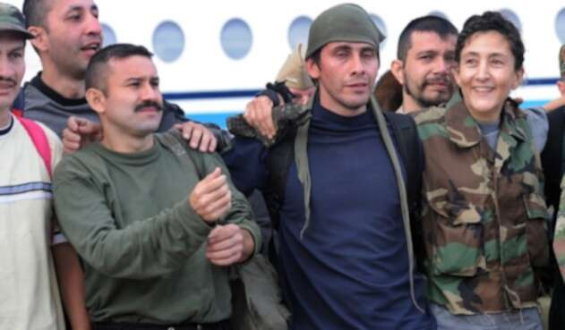 Ingrid Betancourt y los liberados de la Operación Jaque