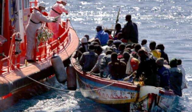 Migrantes Mediterráneo.