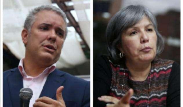 El presidente Iván Duque y la presidenta de la JEP, Patricia Linares, buscarán destrabar el trámite de la ley de procedimiento de esa jurisdicción.