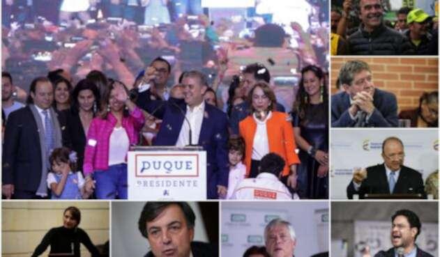 Iván Duque tras ser elegido presidente de Colombia