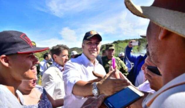 Iván Duque en Gómez Plata (Antioquia)