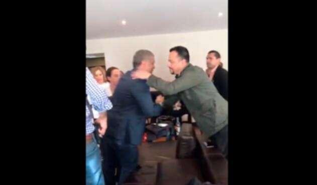 Iván Duque tras ganar la Presidencia de Colombia