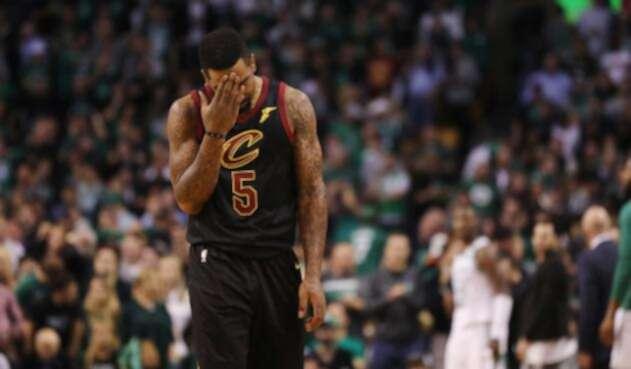 J.R. Smith, jugador de los Cleveland Cavaliers