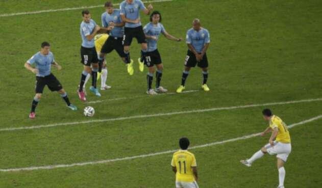 JamesRodríguezfue el máximo goleador de Brasil 2014
