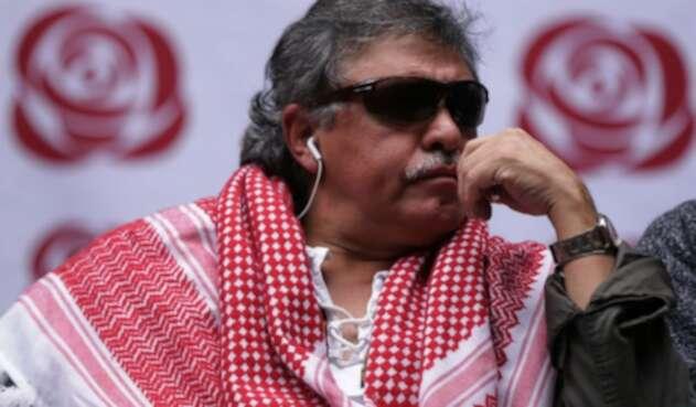Jesús Santrich, líder de las Farc detenido por delitos asociados a narcotráfico