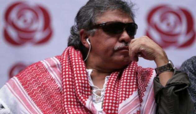 Jesús Santrich, líder de las Farc detenido por delitos asociados a narcotráfico.