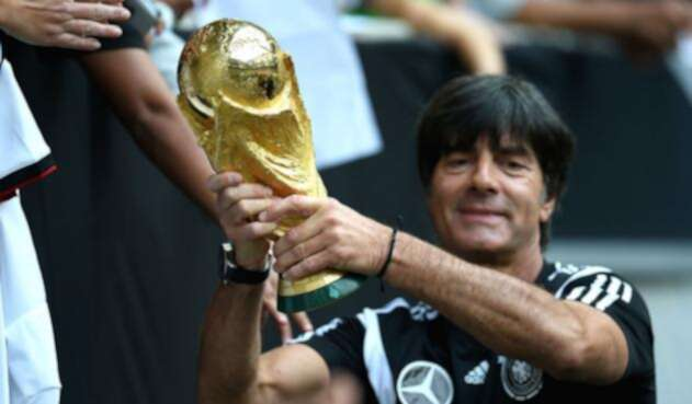 Joachim Low ganó con Alemania la Copa del Mundo de 2014