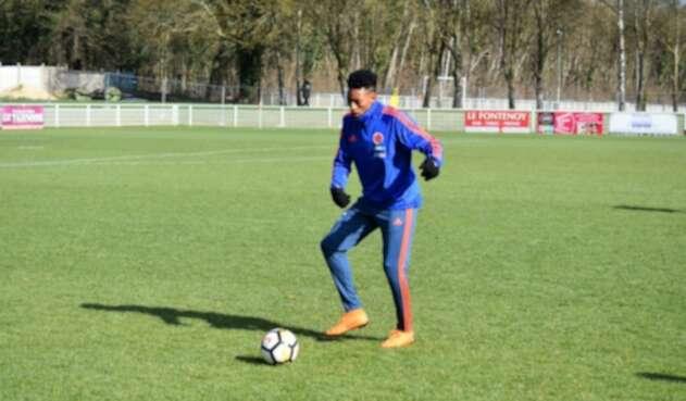 Johan Mojica con apenas cuatro partidos internacionales