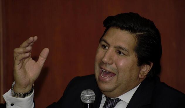 Juan Andrés Carreño, presidente de Independiente Santa Fe