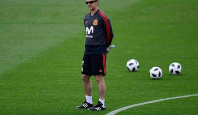 Julen Lopetegui, extécnico de la Selección de España