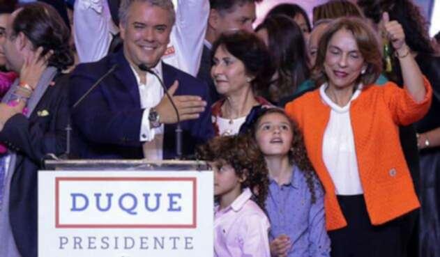 Doña Juliana Márquez, madre de Iván Duque