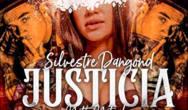 Imagen oficial de la canción Justicia, de Silvestre Dangond y Natti Natasha