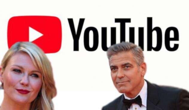 Kirsten Dunst y George Clooney