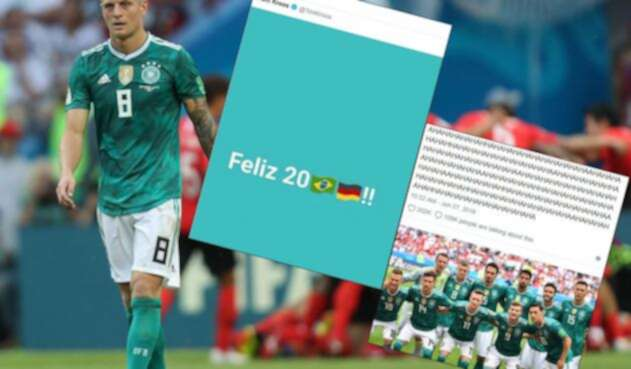 Las burlas de la prensa de Brasil por la eliminación de Alemania de Rusia