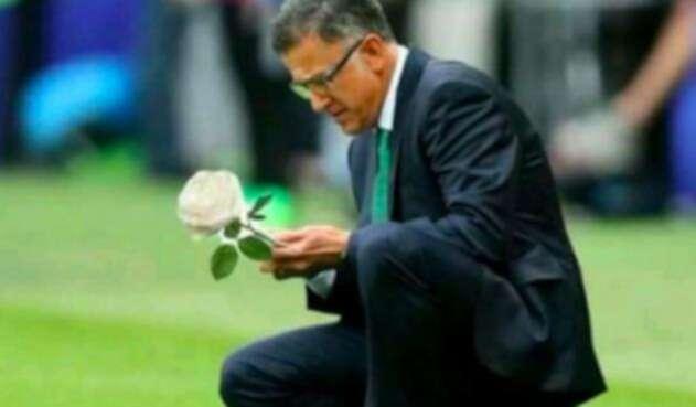 El profesor Juan Carlos Osorio estuvo cerca de quedar eliminado con la Selección de México