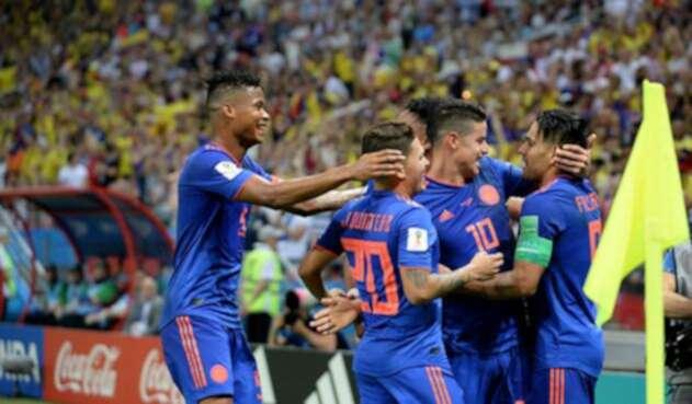 La Selección Colombia venció a Polonia en el segundo encuentro de la fase de grupos