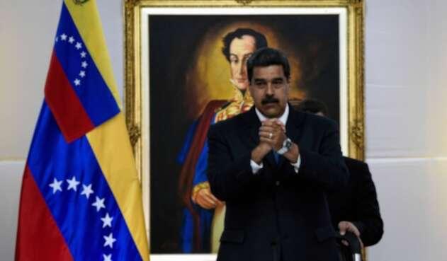 Nicolás Maduro, presidente de Venezuela, en Caracas