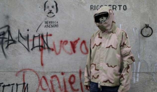 Un estudiante en Managua en medio de las protestas contra Daniel Ortega
