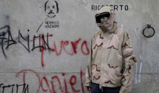 Un estudiante en Managua, en medio de las protestas contra Daniel Ortega