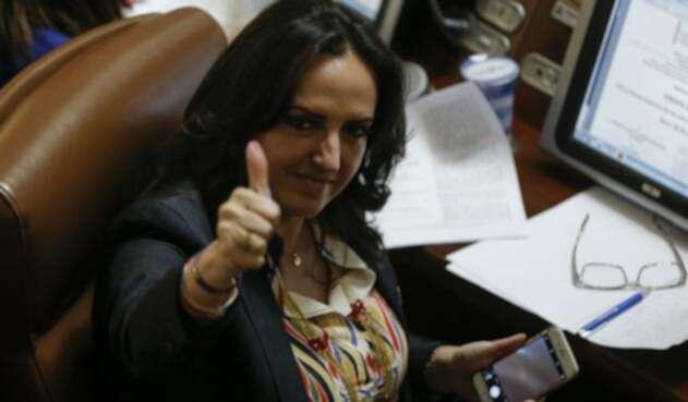 María Fernanda Cabal, líder del Centro Democrático