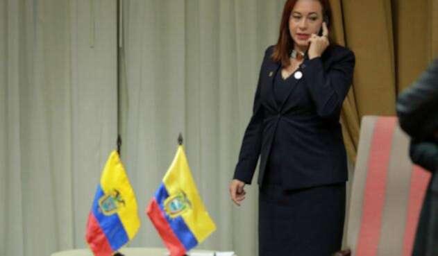 María Fernanda Espinosa, presidenta electa de la Asamblea General de la ONU