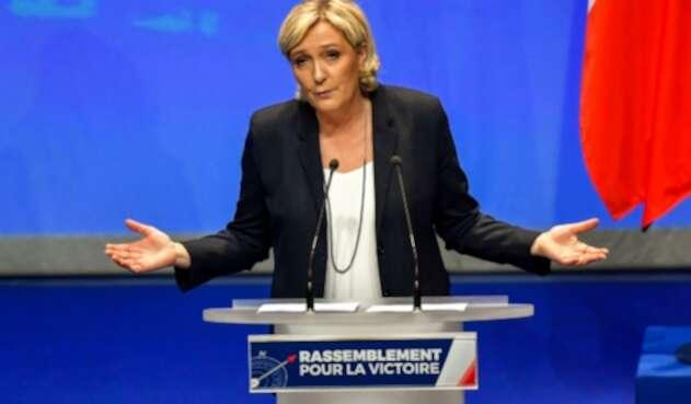 La líder ultraderechista francesa, Marine Le Pen