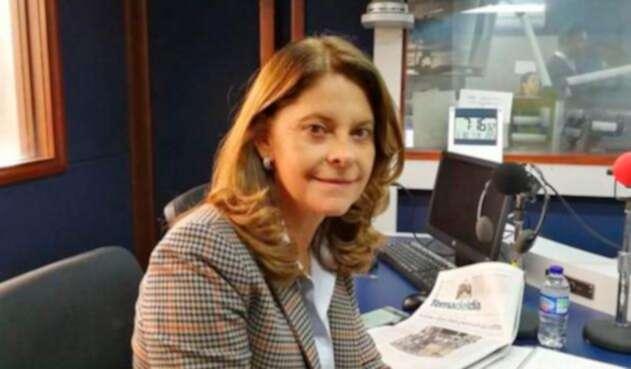 Marta Lucía Ramírez, fórmula vicepresidencial de Iván Duque, en LA FM