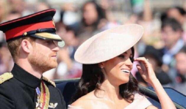 El príncipe Enrique y Meghan
