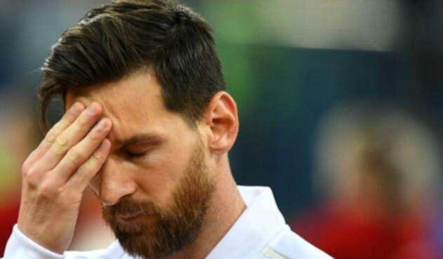 Messi renunció de nuevo a la 'Albiceleste'