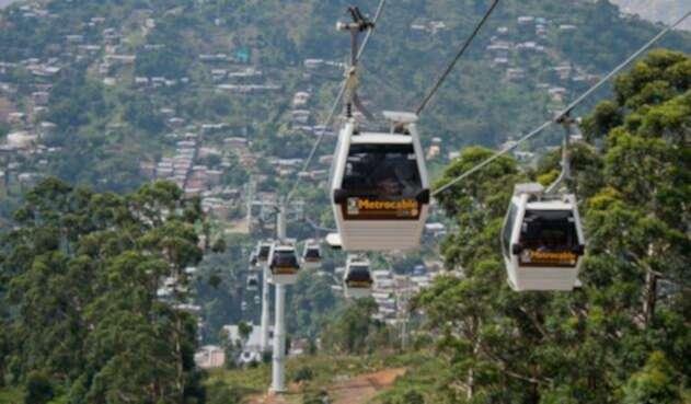El Metrocable de Medellín tiene la suspensión este sábado