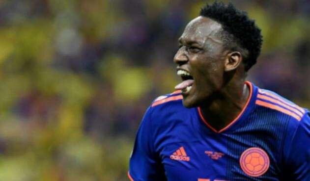 Yerry Mina marcó el primer gol ante Polonia
