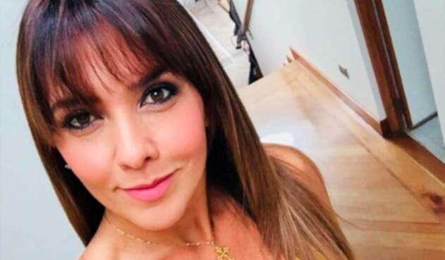 Mónica Rodríguez, presentadora