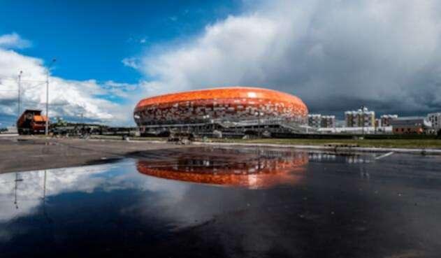 El estadio Mordovia Arena en Saransk (Rusia)